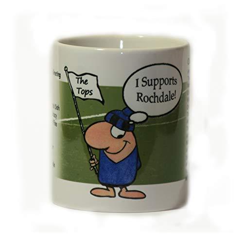Impishodes Rochdale FC Football Supporter Mug