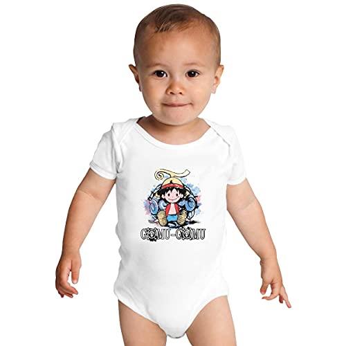 Huang Gomu Gomu no Mi Combinaison pour bébé - Blanc - 9 mois