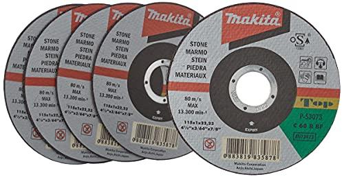 Makita p-53073–Trennscheiben für Stein 115mm x 1.0mm