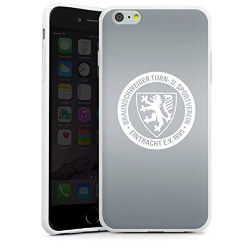 DeinDesign Silikon Hülle kompatibel mit Apple iPhone 6s Plus Case weiß Handyhülle Eintracht Braunschweig Offizielles Lizenzprodukt Bundesliga