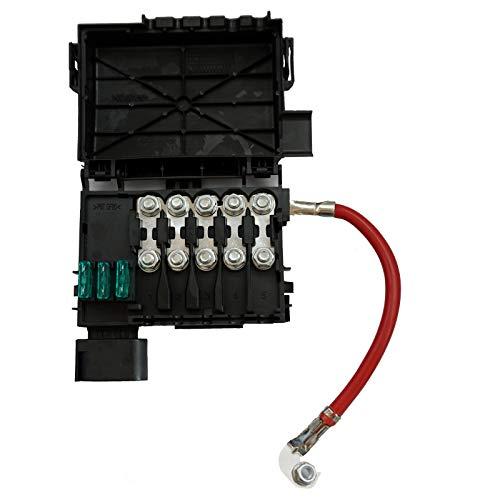 Twowinds - 1J0937550A Caja de fusibles de la batería Beetle Golf A3 S3 Leon Toledo Octavia
