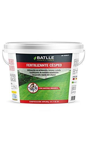 Abonos - Fertilizante Césped Cubo 5Kg - Batlle