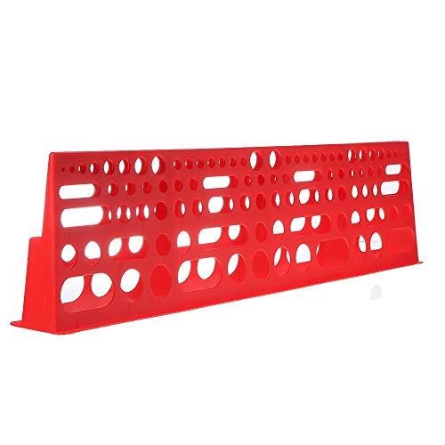 Bricolaje y herramientas Herramienta de almacenamiento en rack de la herramienta del sostenedor del organizador de la caja Hardware Herramientas colgantes Junta Tornillo Llave de Caja de almacenamient