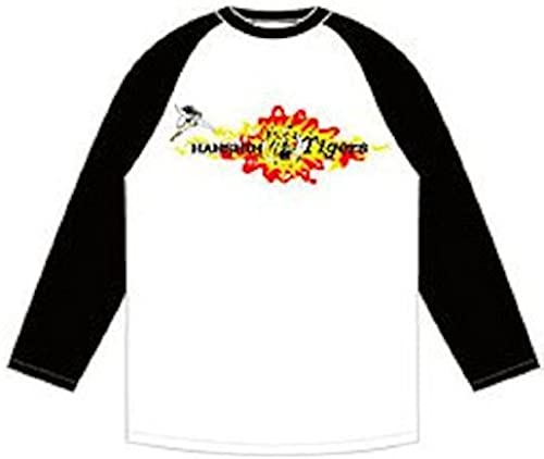 venderse como panqueques Painful Tigers Tigers Tigers Raglan T-shirt B blanco x negro Talla stars and to sell  S (japan import)  Con 100% de calidad y servicio de% 100.