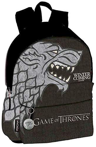 Game of Thrones Stark Mochila Grande Adaptable a Carro  Perona 56977