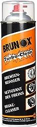 Brunox 2172681200 Bremsenreiniger, schwarz, 10 x 10 x 15cm