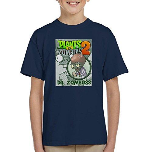 Plants Vs Zombies Dr Zomboss Kid's T-Shirt