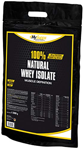 My Supps Soy Isolate - Vegan Protein - 85% Proteinanteil - 2kg
