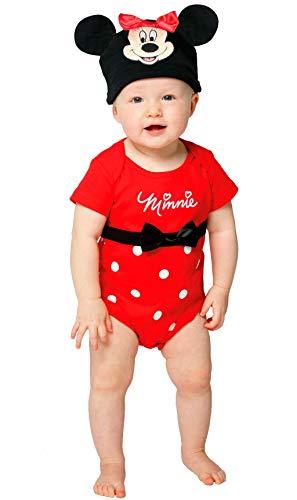 LIRAGRAM ESPAA, S.L.L. Disfraz de Minnie Mouse(TM) Body para beb