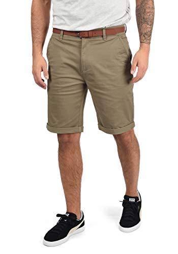 !Solid Montijo Chino Shorts Bermuda Kurze Hose Mit Gürtel Aus Stretch-Material Regular Fit, Größe:M, Farbe:Dune (5409)