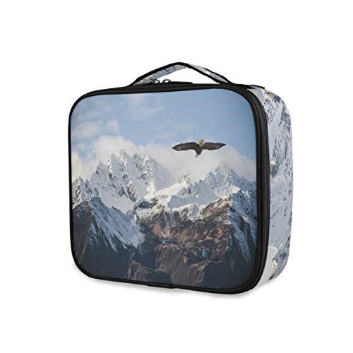 Bergen vliegen Vogel schoonheid make-up tas draagbare opslag reisgereedschap cosmetische tochtval toilettas