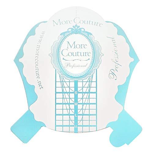 ポリッシュ MoreCouture(モアクチュール)『ネイルフォーム ブルー 100枚(MoreCouture-93652)』