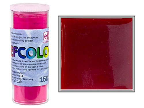 Efcolor 10 ml rot transparent Harz 5 x 3 x 3 cm
