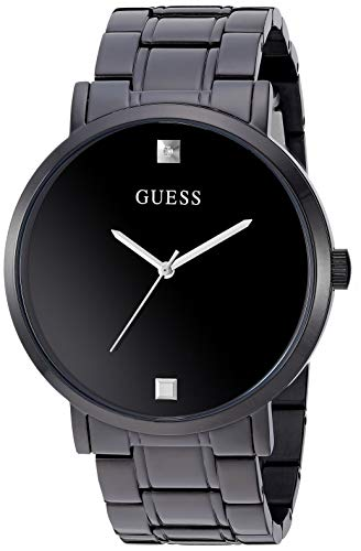 GUESS Stainless Steel Genuine Diamond Dial Watch (Model: U1315G3)