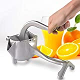 Manual Juicer Pomegranate Juice Squeezer Pressure Lemon Sugar Cane Juice Multi-function Portable (Color : White)