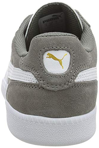 Puma Unisex-Erwachsene Icra Suede Sneaker, Grau - 3