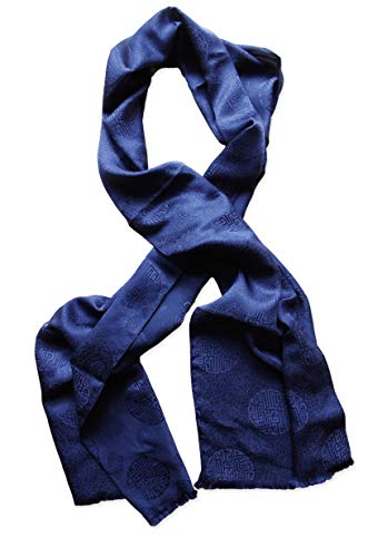 sciarpa uomo seta Posh Gear Uomo sciarpa di seta Satinecho
