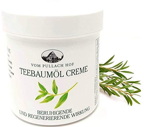 Crema Olio di Albero del tè, Tea Tree Naturale, per il trattamento di irritazioni cutanee, pelle secca, brufoli e acne, 250ml