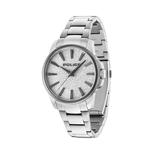 Police Reloj Analog-Digital para Mens de Automatic con Correa en Cloth S0323145