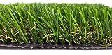 """Kunstrasen - Rasenteppich - Garten - Rasen""""Yasmin"""" Florhöhe 37 mm - Breite - 200cm - 4 farbig - 1 Meter fortlaufend"""