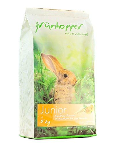 grünhopper Junior Kaninchenfutter 5kg
