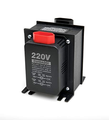 Autotransformador Bivolt (110V/127V para 220V ou 220V para 110V/127V) Tripolar de 3000VA Multicraft