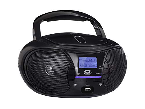 Trevi CMP 581 Stereo Portatile con Radio DAB, USB, CD, Mp3, USB