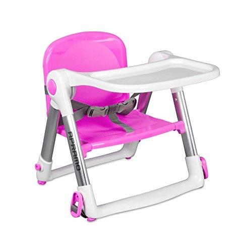 Best Buy! Apramo Flippa Dining Booster Pink