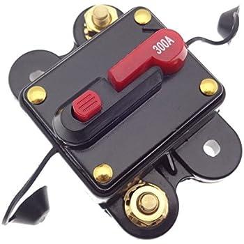 80A Sicherungsautomat Automatik Abschalter Sicherung Auto KFZ Batterie 12 24 48V