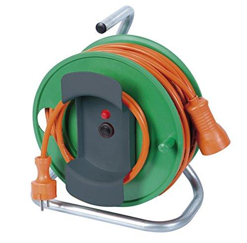 Ribitech - preej25315v - Enrouleur électrique jardin 25m
