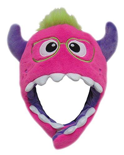 Monster Mütze Plüsch Kinder Erwachsene Karneval Halloween Wintermütze Jungen Mädchen Kindermütze 8960