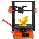 Impresora 3D HICTOP S250 con placa base de 32 bits TMC 2208 impulsa ambos lados tamaño de impresión de cama de vidrio revestido 235 * 235 * 250 mm