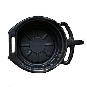 TOOGOO-75L-Drenaje-de-plastico-Pan-Wast-motor-Tanque-de-colector-cambios-de-aceite-viaje-Para-la-reparacion-Cambio-de-fluido-de-combustible-del-coche-Herramienta-de-garaje