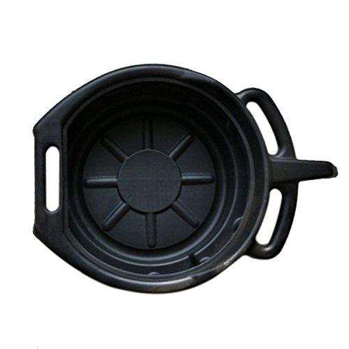 Cikuso 7.5L Drenaje de plastico Pan Wast motor Tanque de colector cambios...