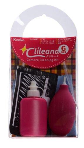 Kenko クリーニング用品 クリリーナ カメラクリーニングキット 6点セット ピンク
