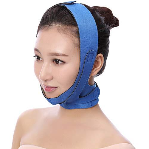 ChenCheng Visage Diluant Masque Lifting, Lifting Bandage, resserrement de la Peau et des Rides de prévention for Les Hommes et Les Femmes -jugulaire (