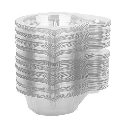 Einweg-Urinbecher, Einweg-Urinsammelbecher aus Kunststoff Schwangerschaftstest Urinbehälter Ideal für Frauen (100 Stück)