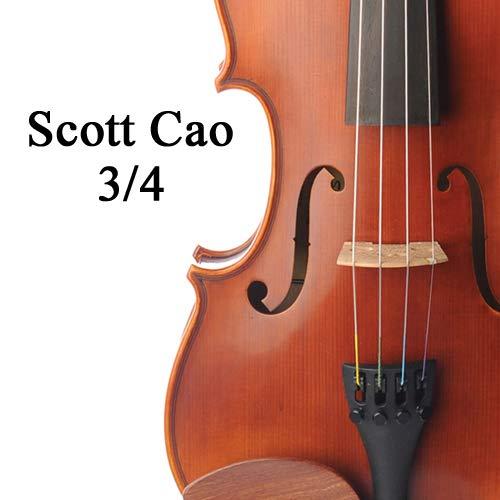 Scott Cao Violin Outfit 3/4