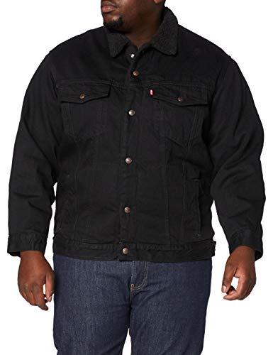 Levi's Herren Big Jeansjacke, Berk Sherpa Trucker, 3XL