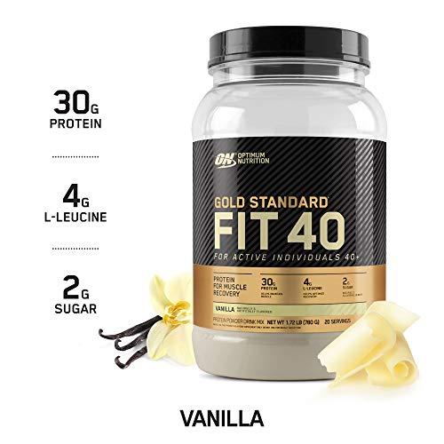Optimum Nutrition: Fit 40 Protein Powder 780g Vanilla