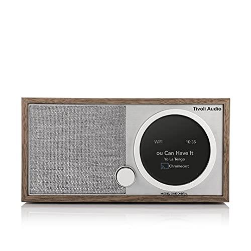 Tivoli Audio Model One Digital+ FM/Dab+ Radio Bluetooth WiFi wallnuß/Grigio