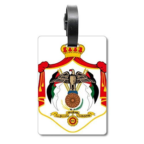 Etiqueta de identificación para Maleta con Emblema Nacional de Jordania Asia