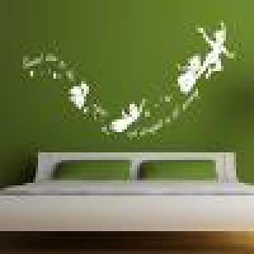 Etiqueta De La Paredpequeño Jingle En La Segunda Estrella Derecha Peter Pan...