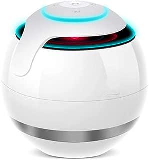 LED Bluetooth Speaker, Portable Bluetooth Speakers,Colorful Night Light Wireless Speaker, Bedside Lamp & Built in Mic for iPhone/Samsung/Speakerphone/TF Card/Tablet/Laptop/Echo Dot,White
