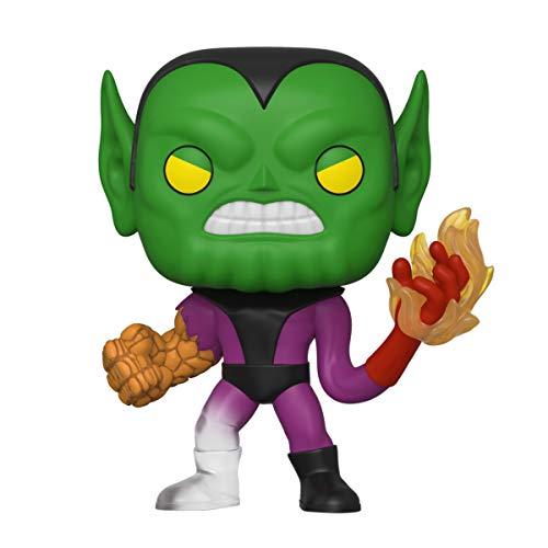 Funko- Pop Marvel: Fantastic Four-Super-Skrull Collectible Toy, Multicolore, 44994