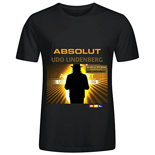 Page Ellen UDO Lindenberg Absolut Electronica Herrens Round Neck Screen Printed Tee Large