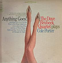 Anything Goes: The Dave Brubeck Quartet Plays Cole Porter (1981 Reissue)