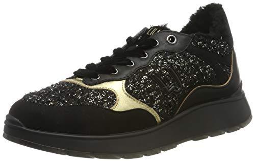 Liu Jo Shoes Mädchen Asia 06 Sneaker, Schwarz (Black 22222), 35 EU