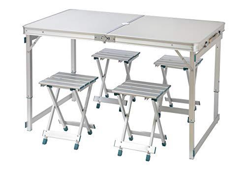 Trademark Innovations 47.2' 4 Person Aluminum Lightweight Folding...