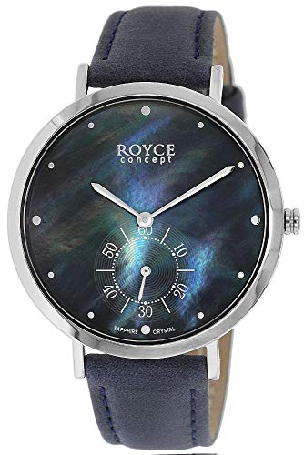 Boccia Damen Analog Quarz Uhr mit Echtes Leder Armband 3316-03